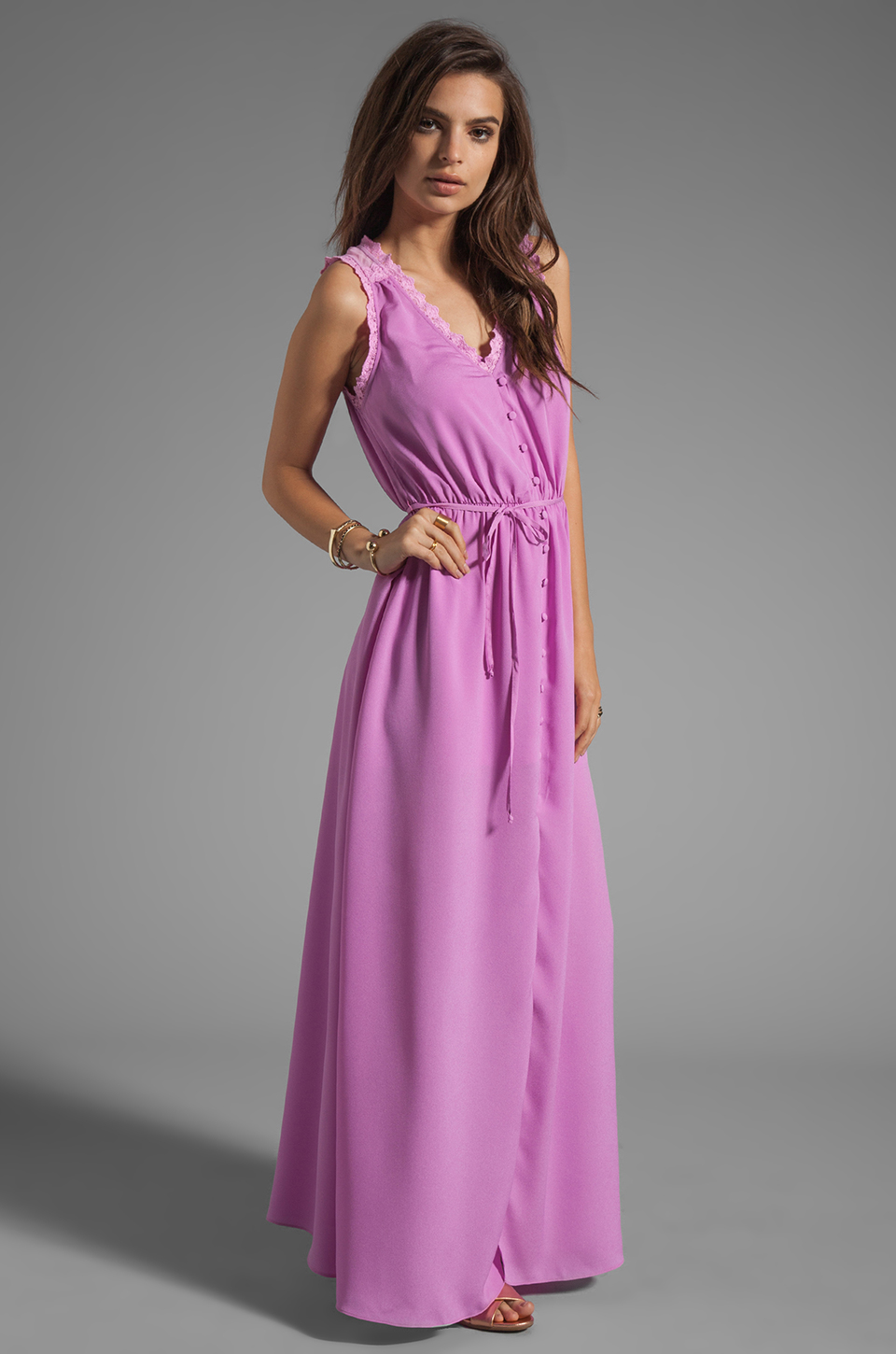 Ladakh Hidden Treasure Dress in Chalk Pink