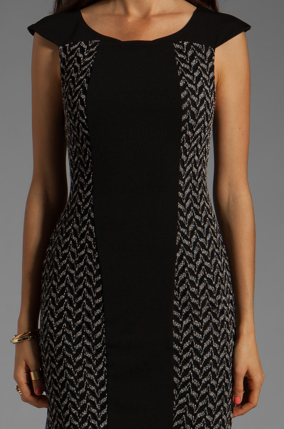 Ladakh Lace Dreamer Dress in Black