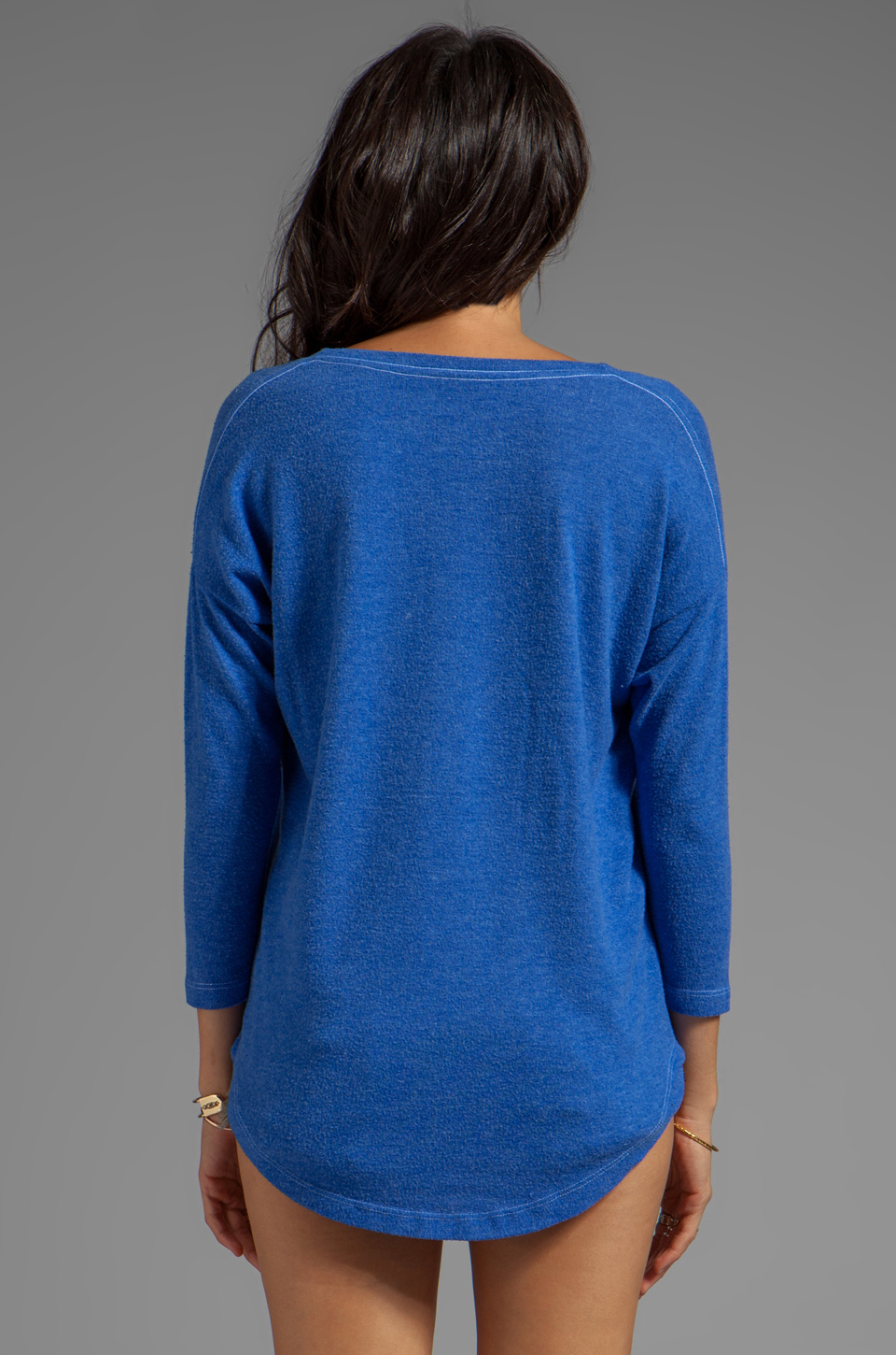 Local Celebrity Hey Babe Pullover in Royal Duran