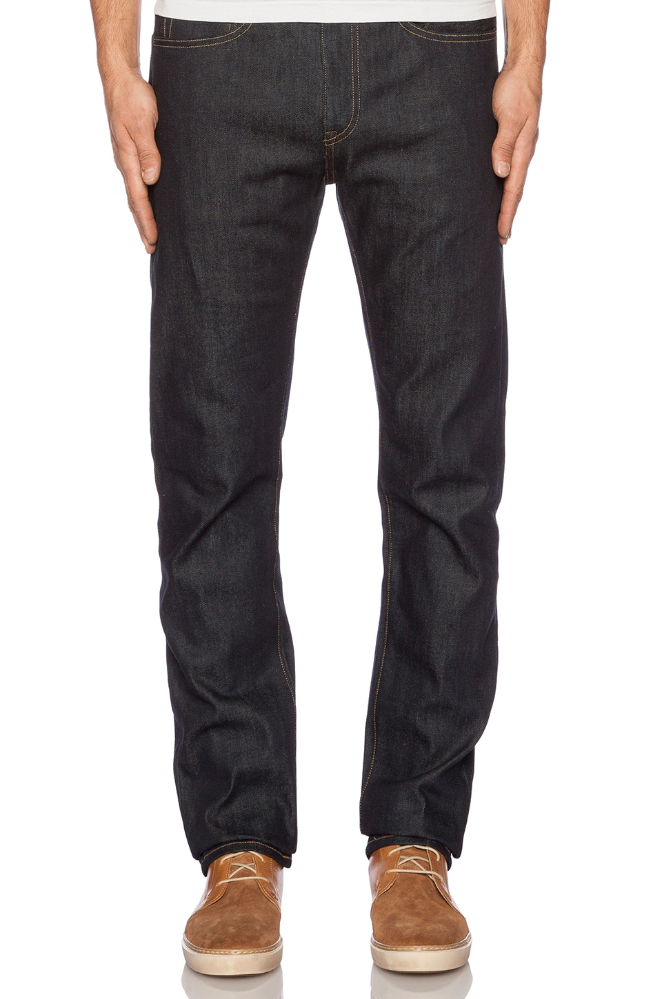 LEVI'S: Made & Crafted Tack Slim in Indigo Rigid