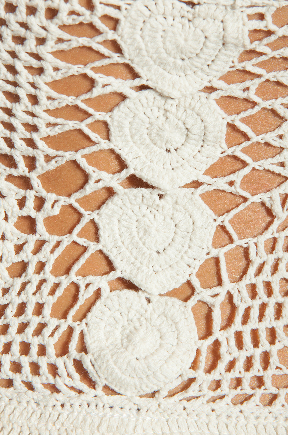 Lisa Maree Birthday Blues Crochet One Piece in Cream