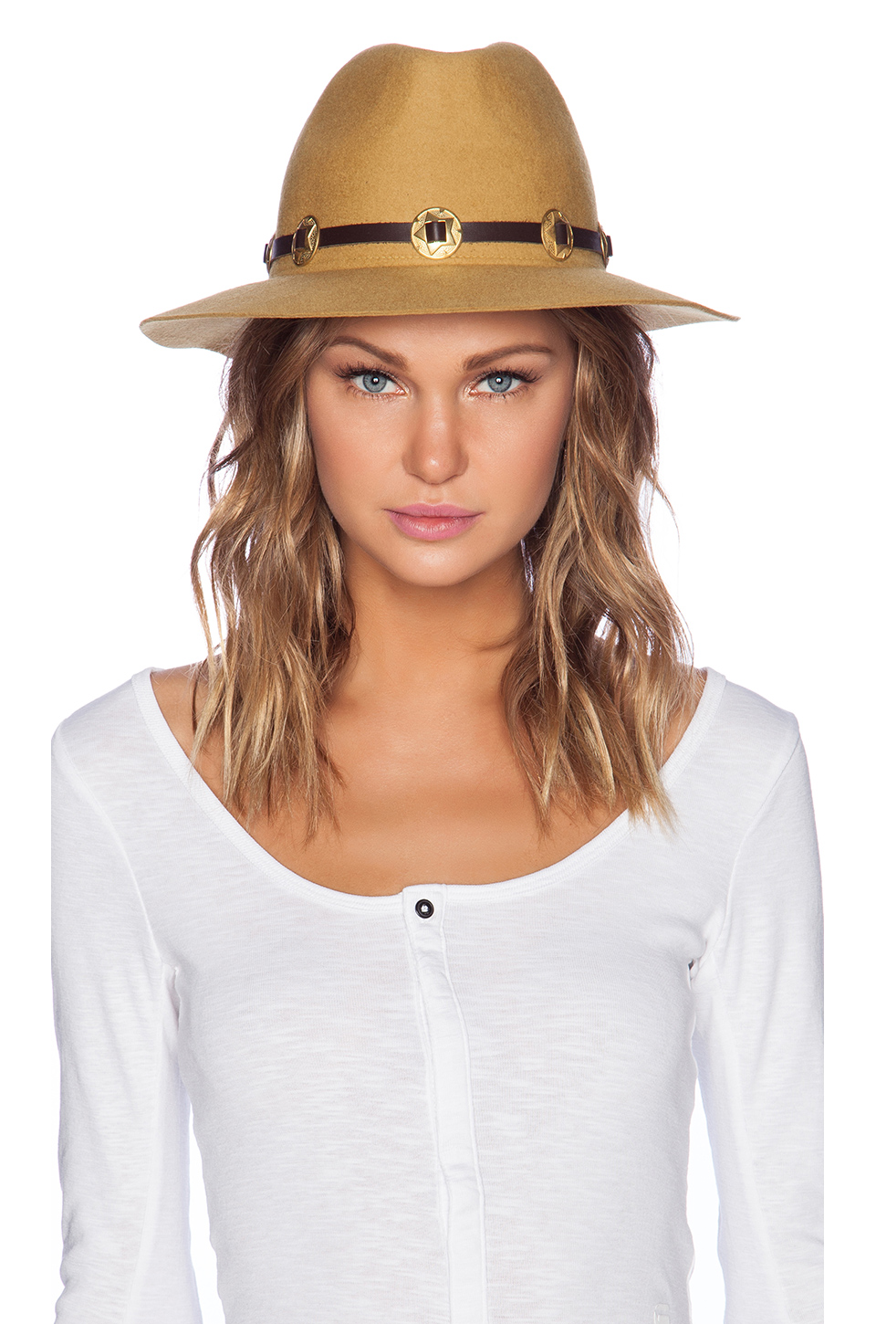 San Miguel Gold Concho Hat