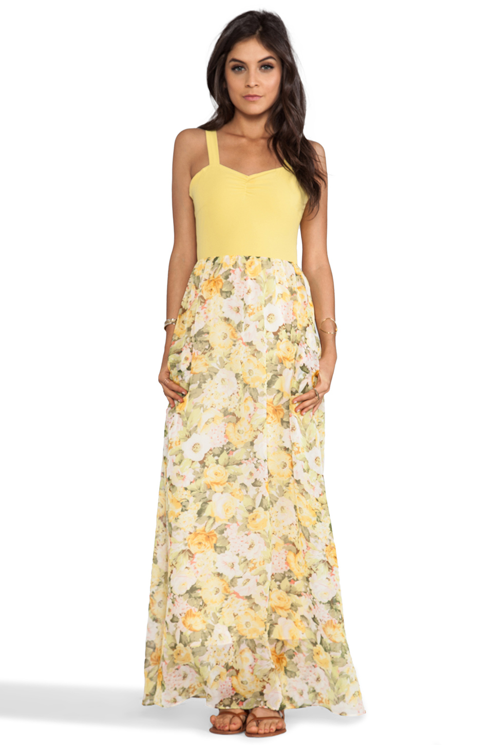 Lovers + Friends Lovers + Friends Crazy Love Maxi Dress in Floral