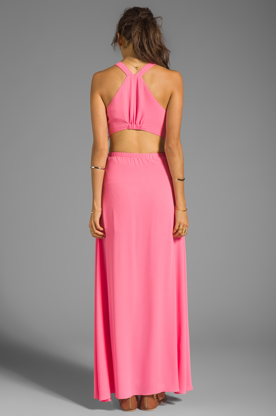 Lovers + Friends Look of Love Dress in Pink