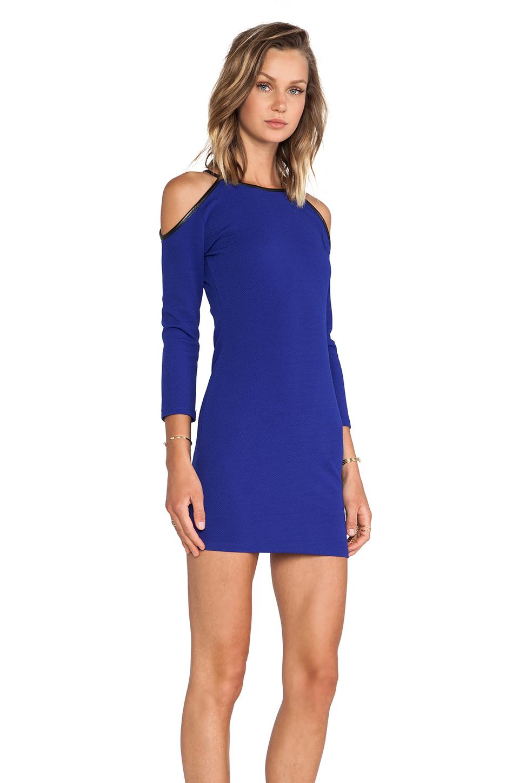 Lovers + Friends Yours Mini Dress in Blue