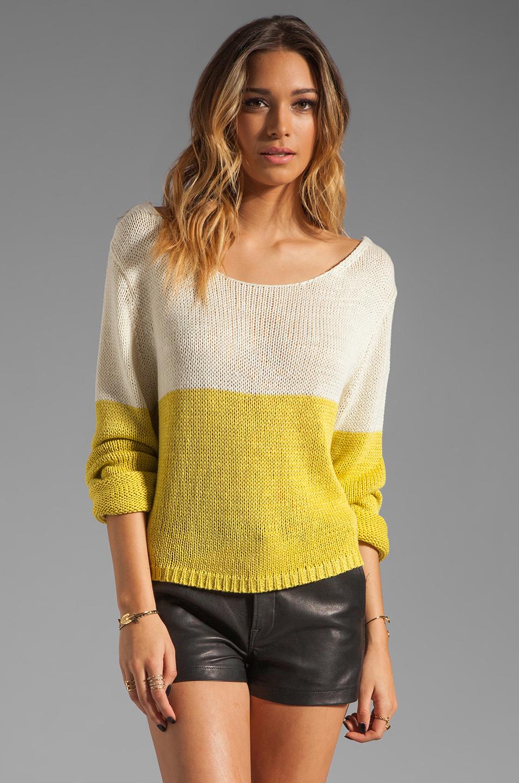 Lovers + Friends Lovers + Friends Sweet Escape Sweater in Citrus