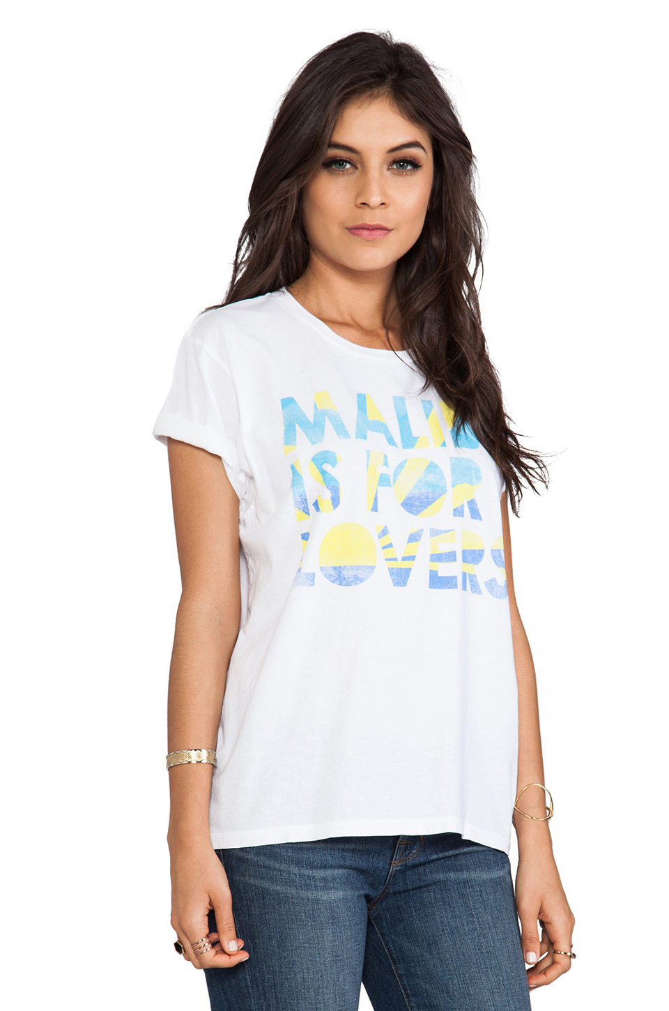 Lovers + Friends Malibu Is For Lovers Graphic Tee in Malibu