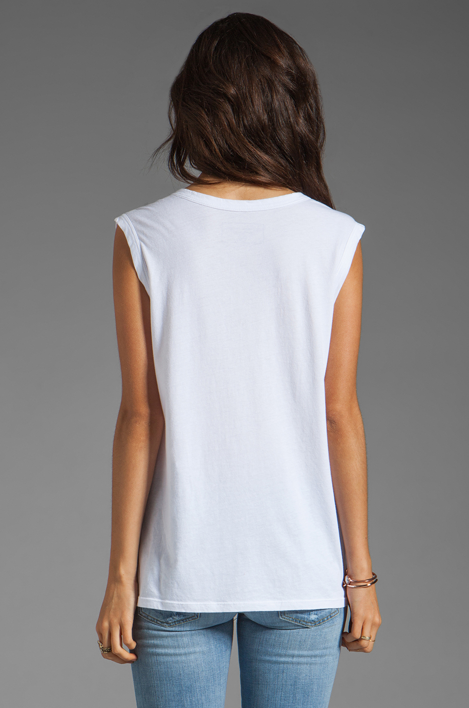 Lovers + Friends for REVOLVE Doberman Tank in White
