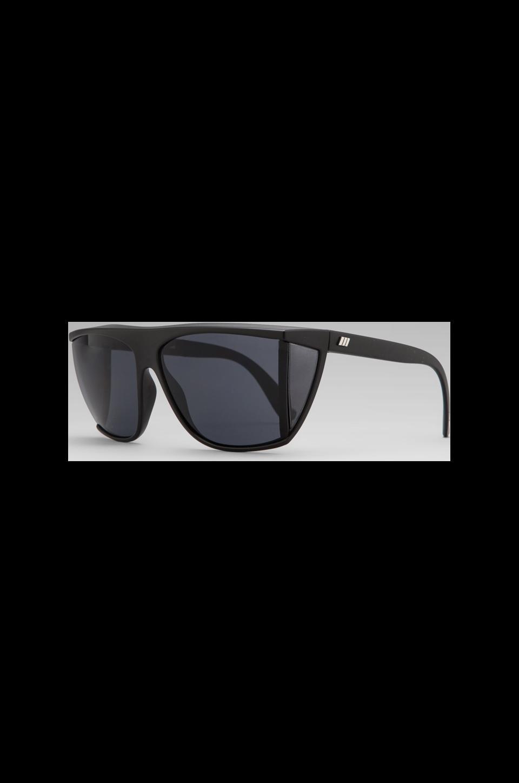 Le Specs T Rex in Matte Black/ Smoke Mono