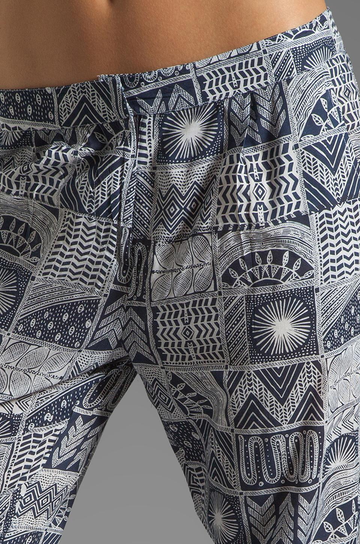 Mara Hoffman Printed Slouch Pant in Patchwork