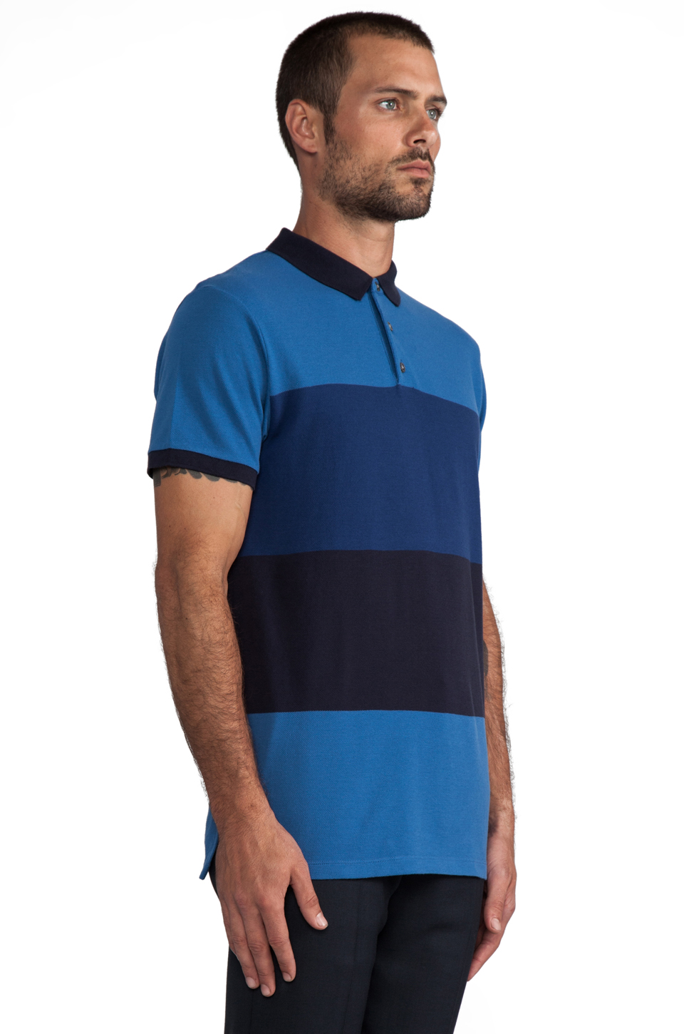Marc by Marc Jacobs Newport Polo in Delft Multi
