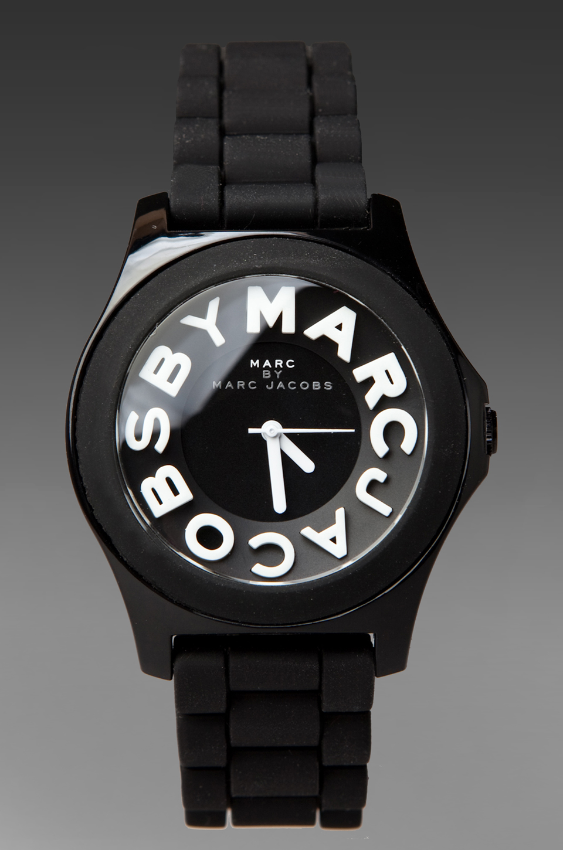 Marc by Marc Jacobs Sloane Watch in Black