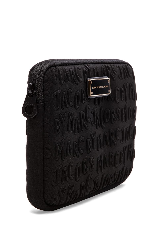 Marc by Marc Jacobs Adults Suck Neoprene Mini Tablet Case in Black