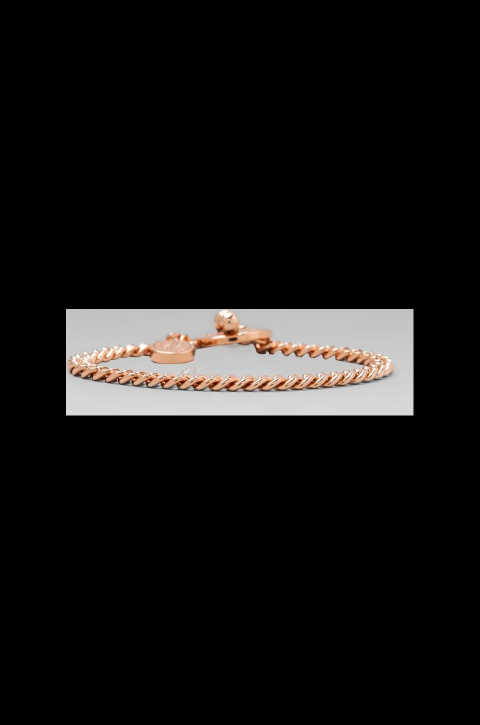 Marc by Marc Jacobs Mini Toggle Bracelet in Rose Gold