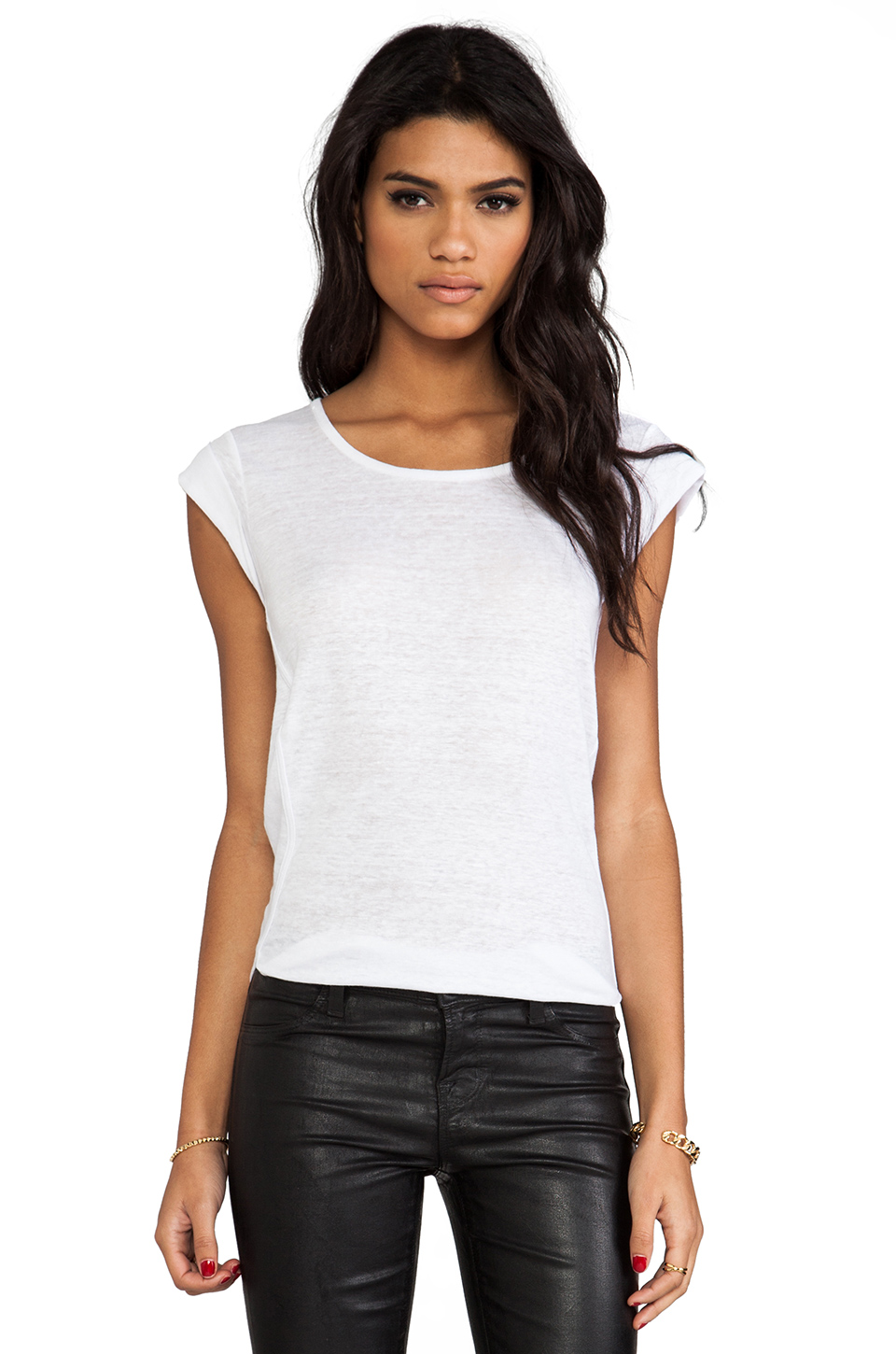 Marc by Marc Jacobs Carmen Tee in White