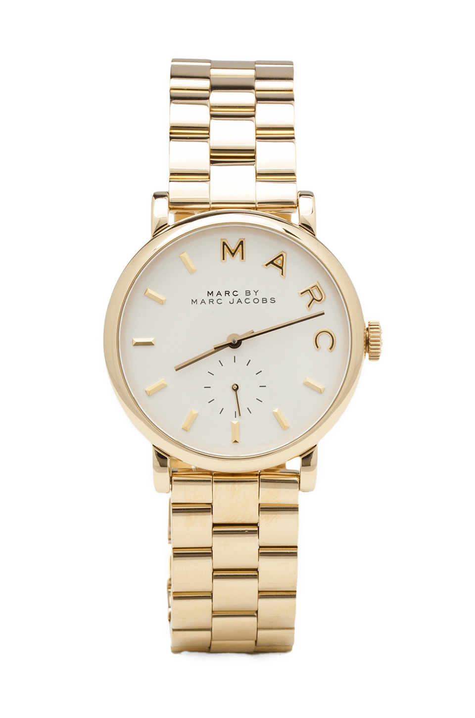 Marc by Marc Jacobs MBM3243 in Gold  REVOLVE