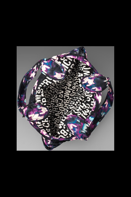 Marc by Marc Jacobs Pretty Nylon Printed Medium Tote in Black Multi