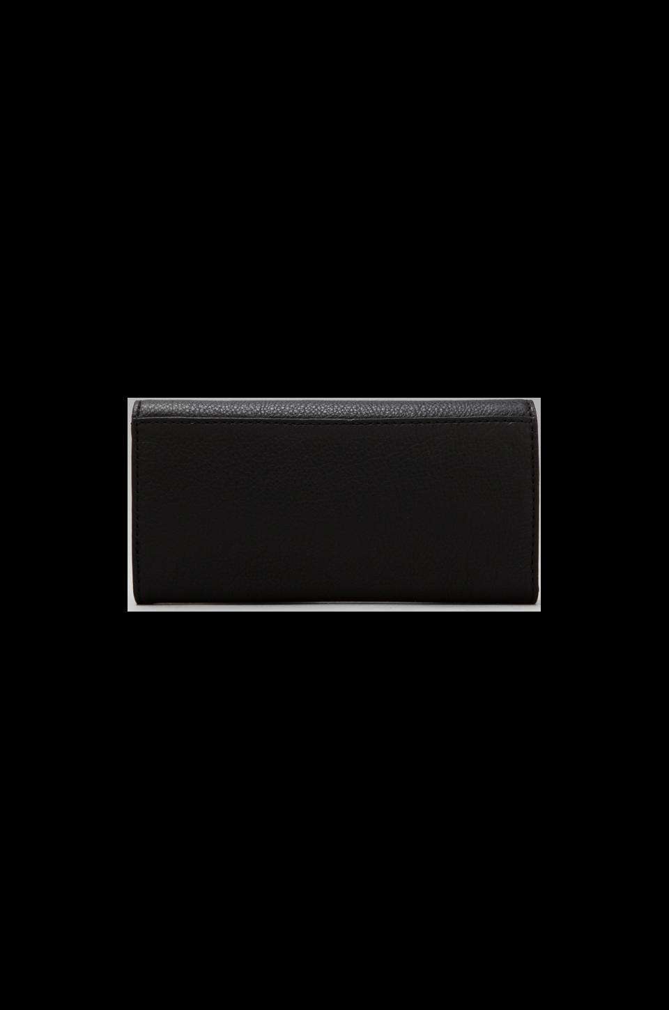 Marc by Marc Jacobs Too Hot to Handle Colorblocked Original Long Trifold Wallet in Black Multi
