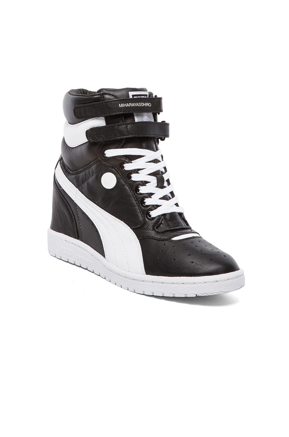 Puma by Mihara MY-66 Sneaker in Black/White