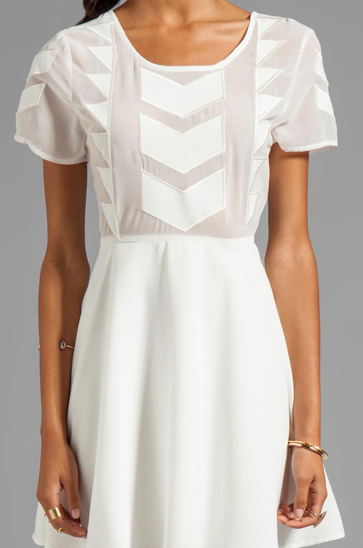 MINKPINK Zepher Dress in White