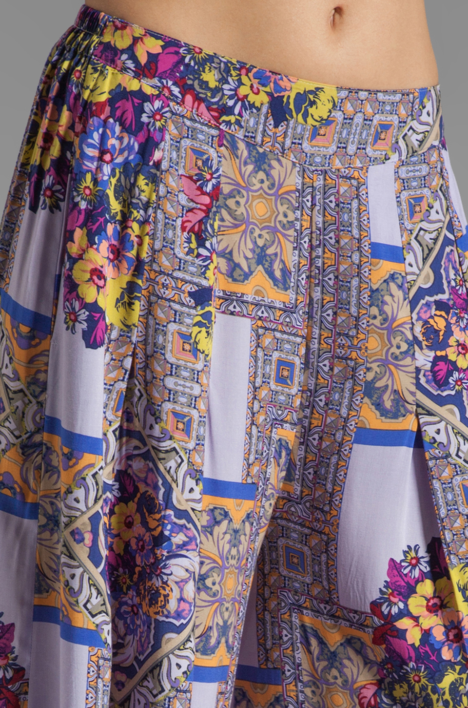 MINKPINK Distant Traveller Palazzo Pant in Multi