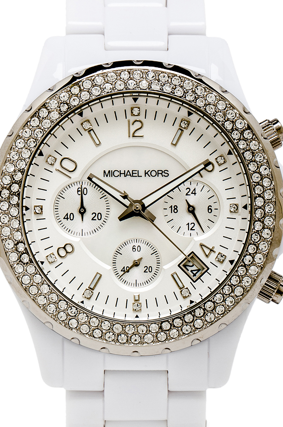 Michael Kors Madison Watch in White