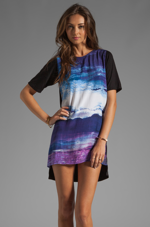Motel Mollyanna Dress in New World Purple