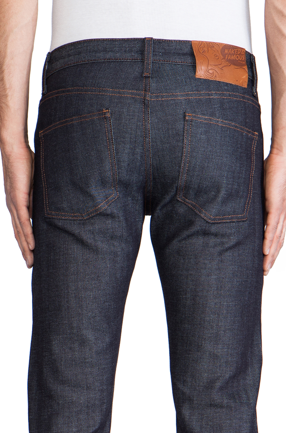 Naked & Famous Denim Super Skinny Guy 12.5 oz in Stretch Selvedge