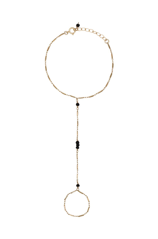 natalie b jewelry natalie b yaya bracelet in onyx revolve