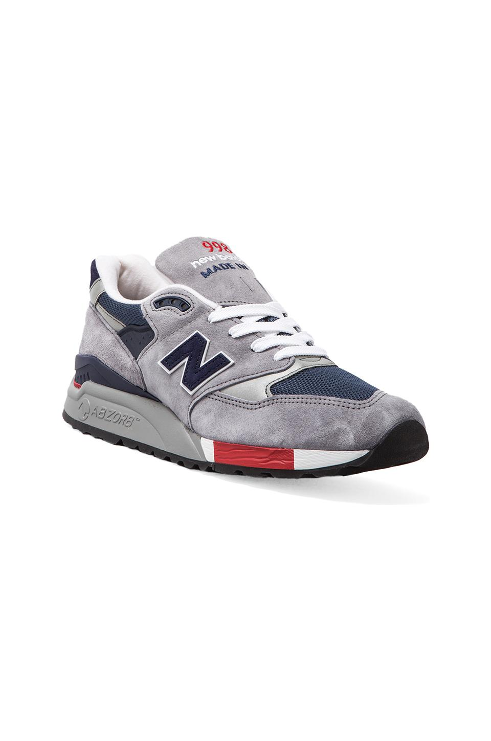 New Balance Made in USA M998 in Grey