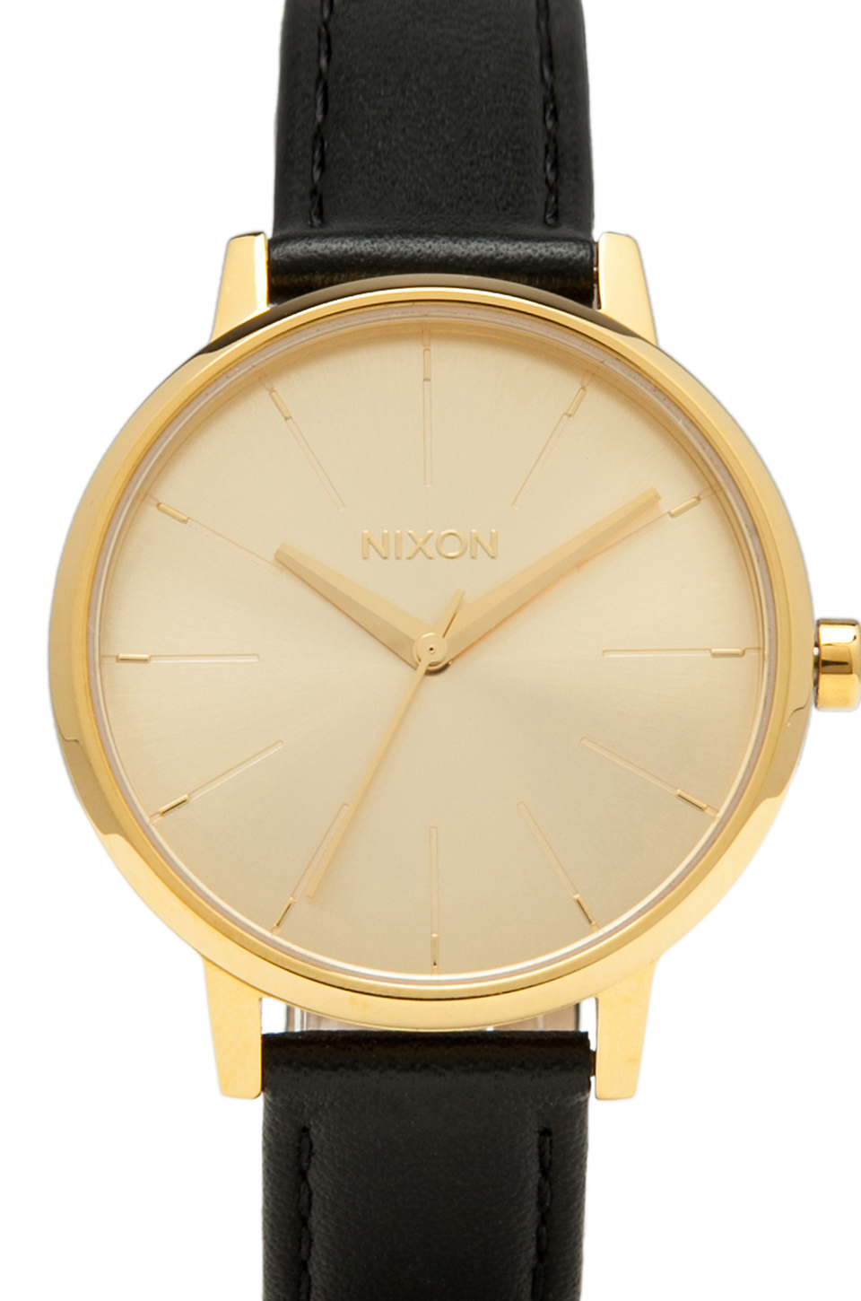 Nixon The Kensington Leather in Gold