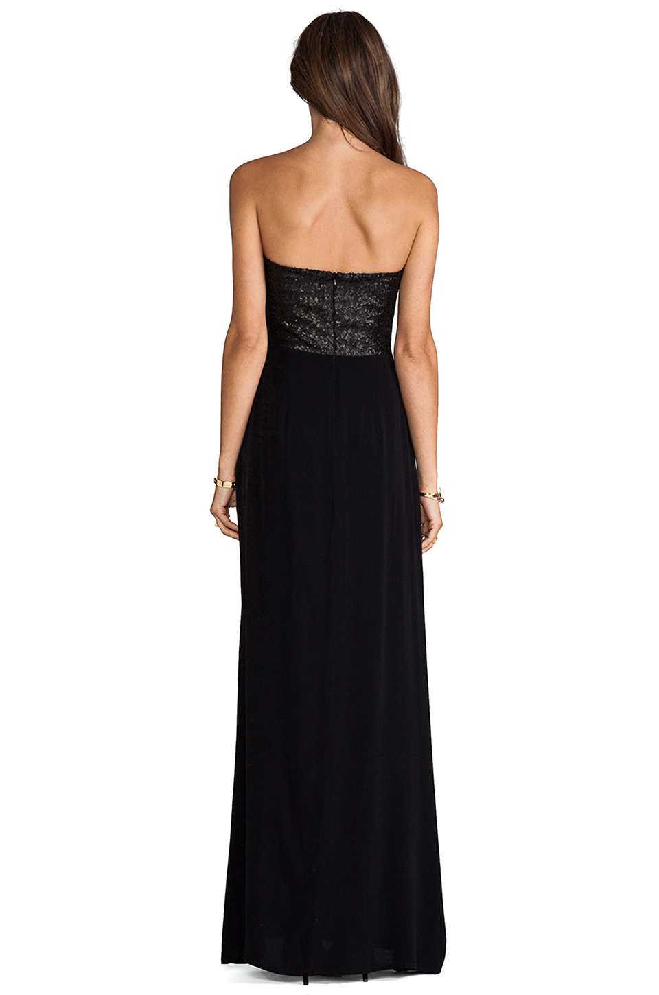 Nookie Masquerade Maxi Dress in Black
