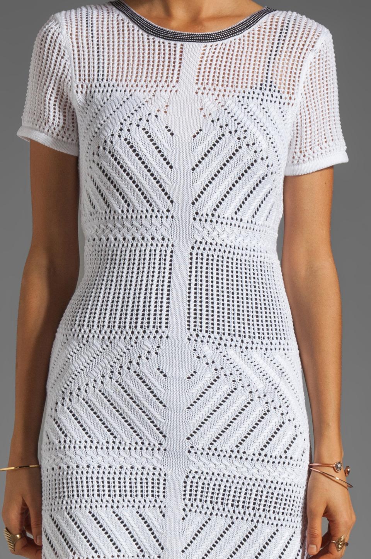 Nanette Lepore Runway Crazy Wild Dress in White