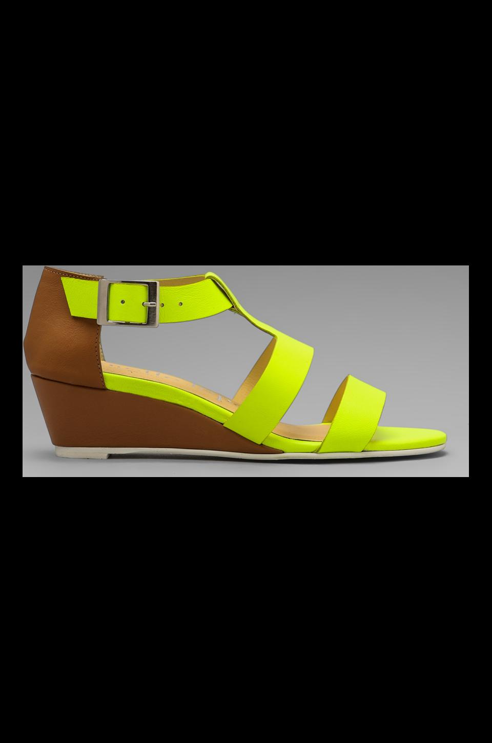 Nanette Lepore Absolute Wonder Wedge in Neon Yellow