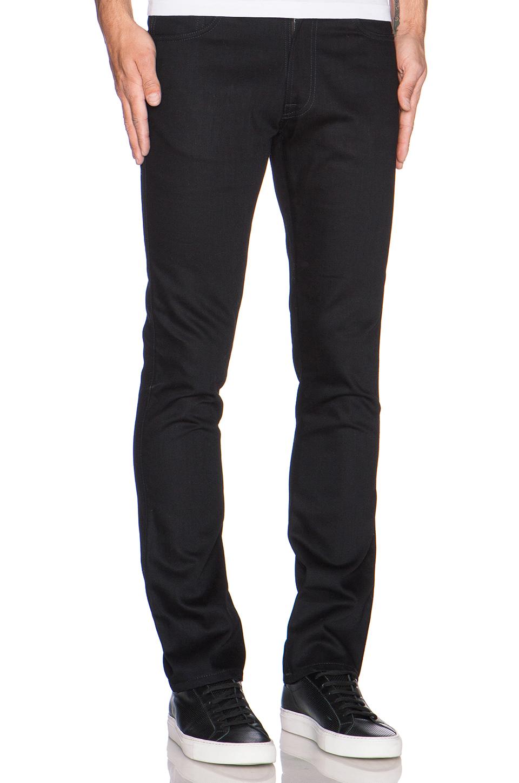 Nudie Jeans Slim Jim in Org. Dry Black