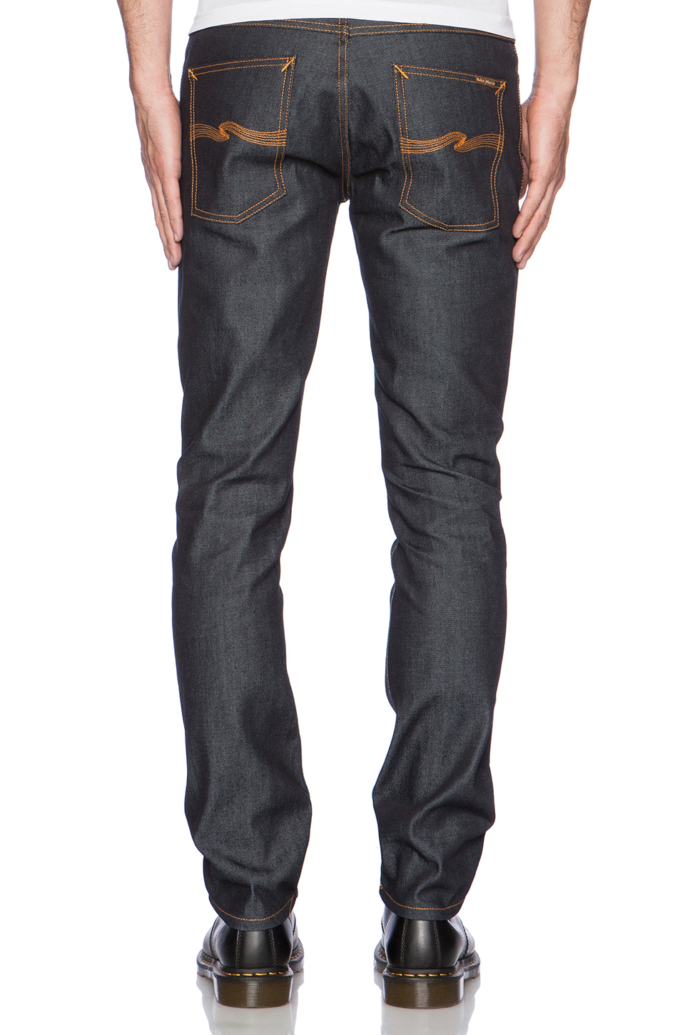 Nudie Jeans Grim Tim in Dry Dirt Organic