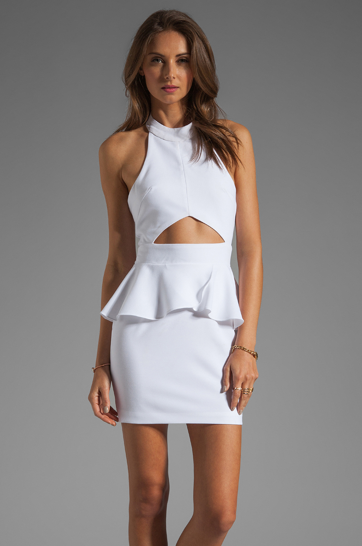 Naven Bardot Dress in White