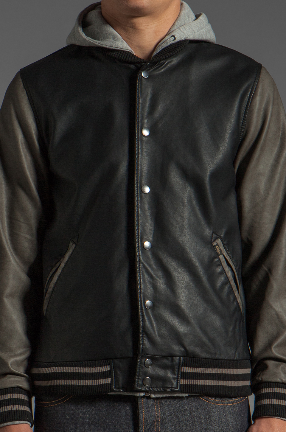 Obey Jealous Lover Dark Red Bomber Jacket at Zumiez : PDP