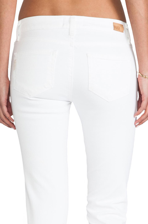 Paige Denim Skyline Skinny in Optic White