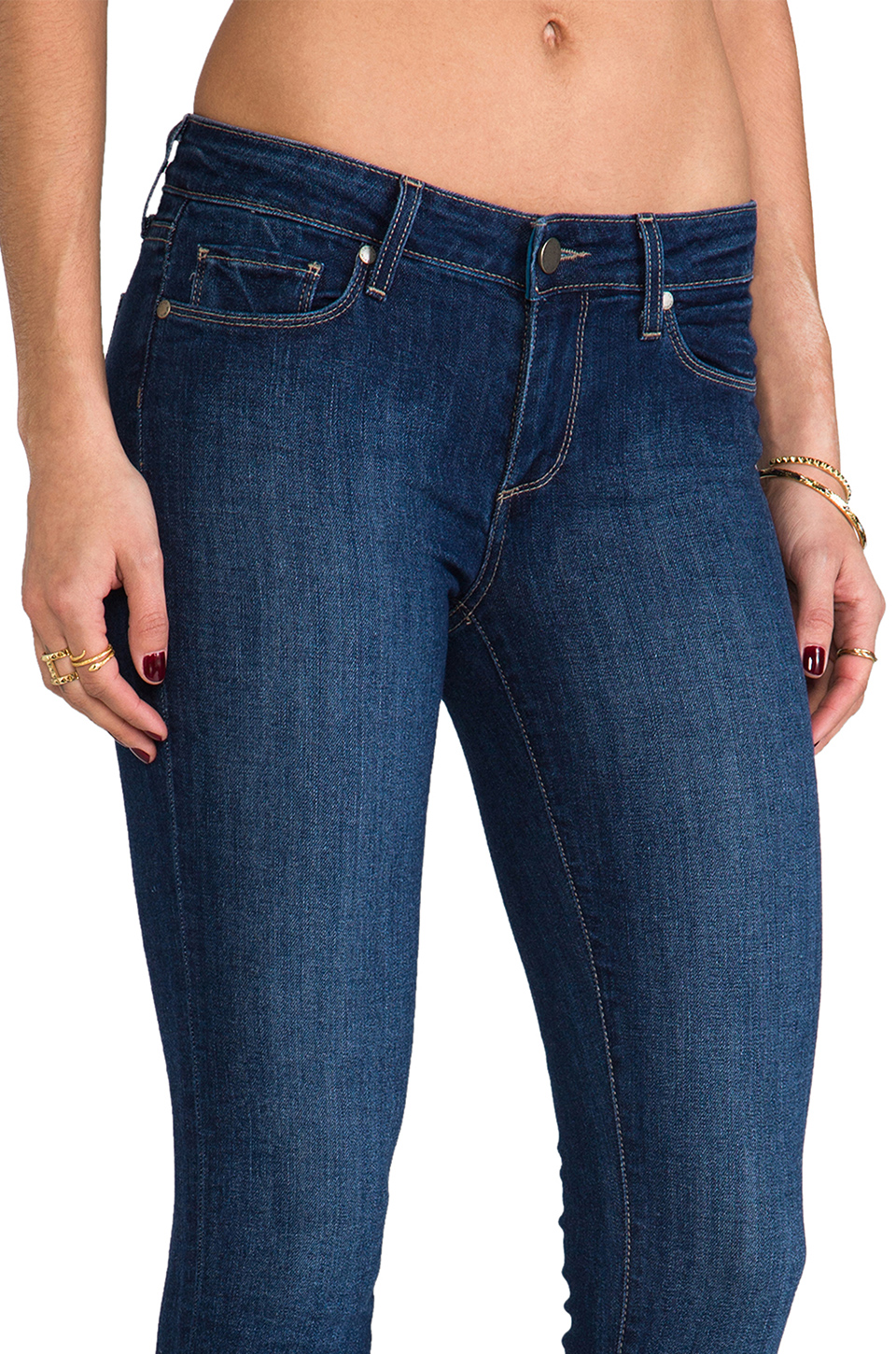 Paige Denim Skyline Ankle Peg in Hadley