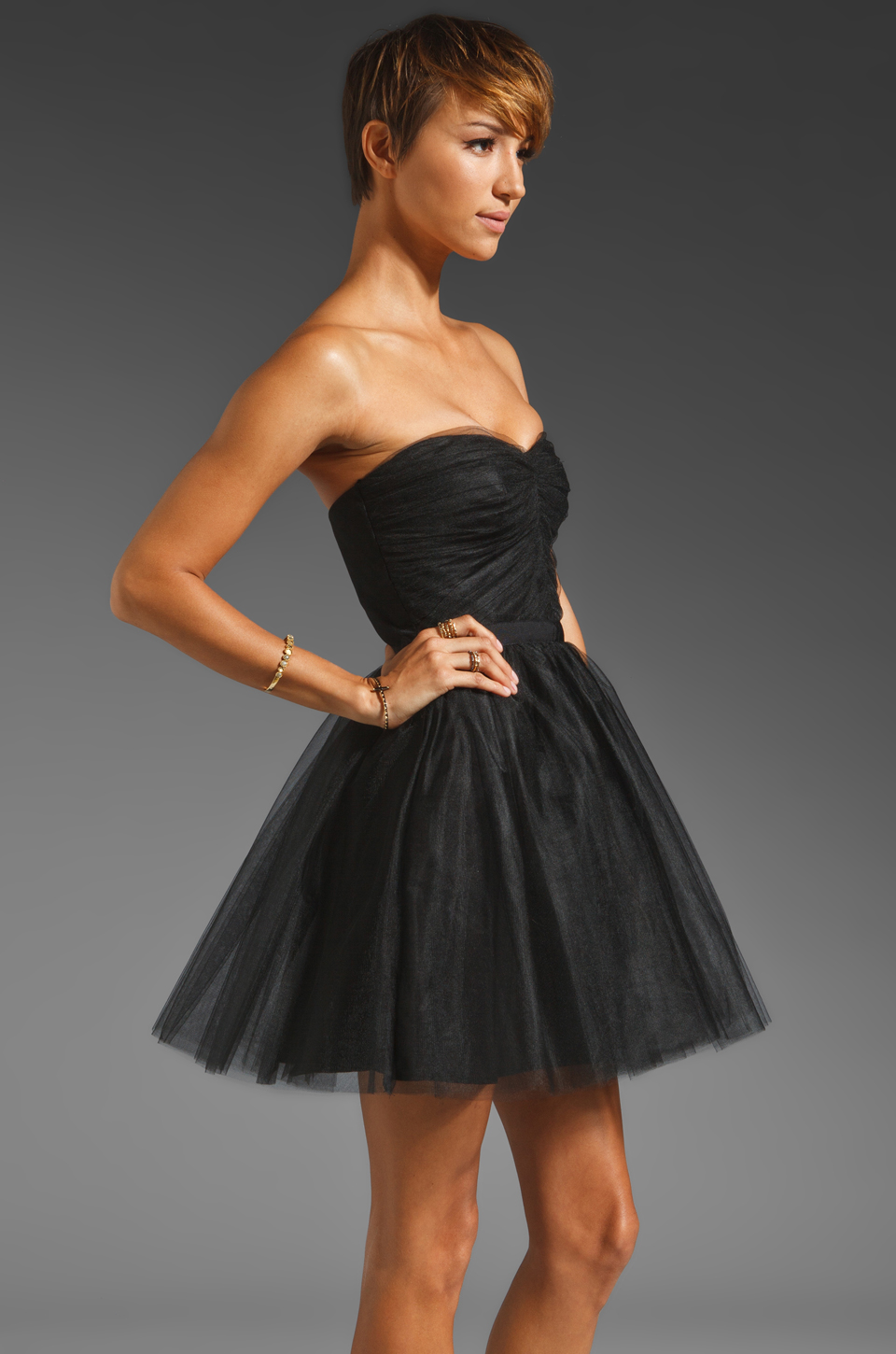 Paper Crown by Lauren Conrad Jasper Dress in Black
