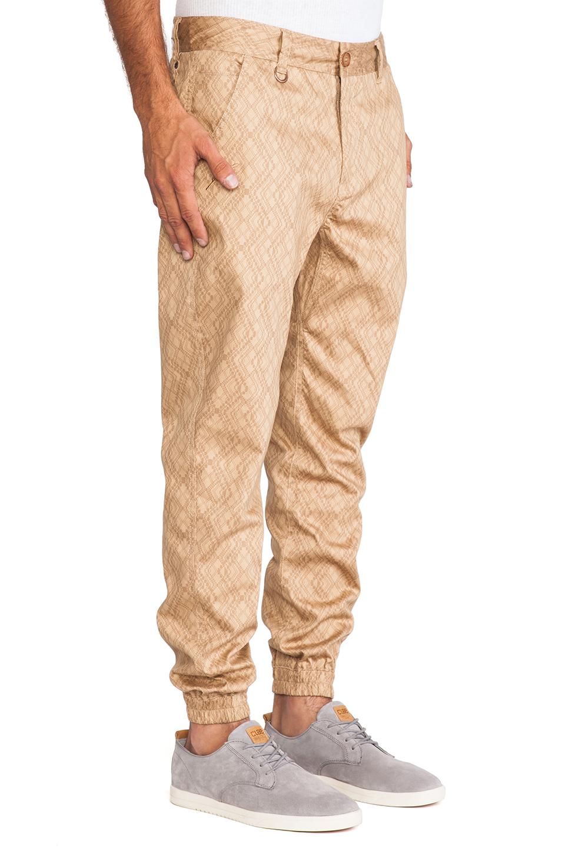 Elegant  Kooples Sport Jogging Pants With Zip Pocket Detail In Khaki In Khaki
