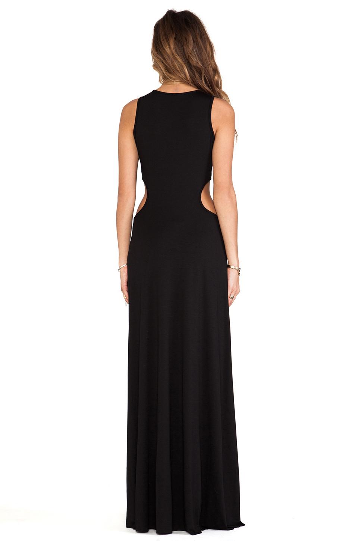 Rachel Pally Brentwood Cut Out Dress in Black