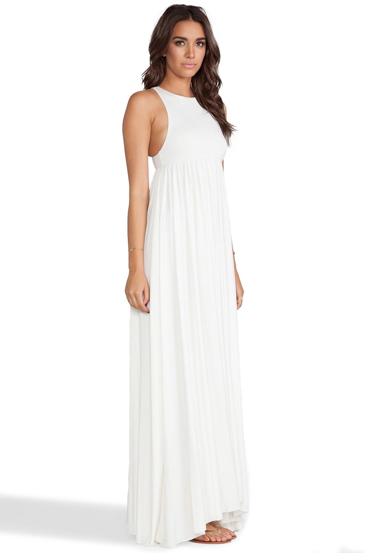 Rachel Pally Anya Tank Maxi Dress in White