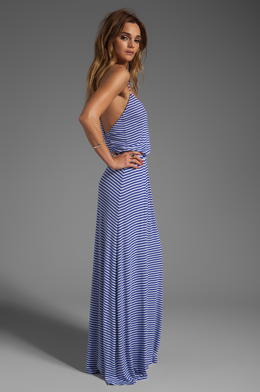 Rachel Pally Rib Graciella Dress in River Stripe