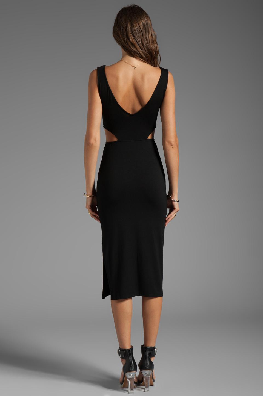 Rachel Pally McKay Cut-out Dress in Black