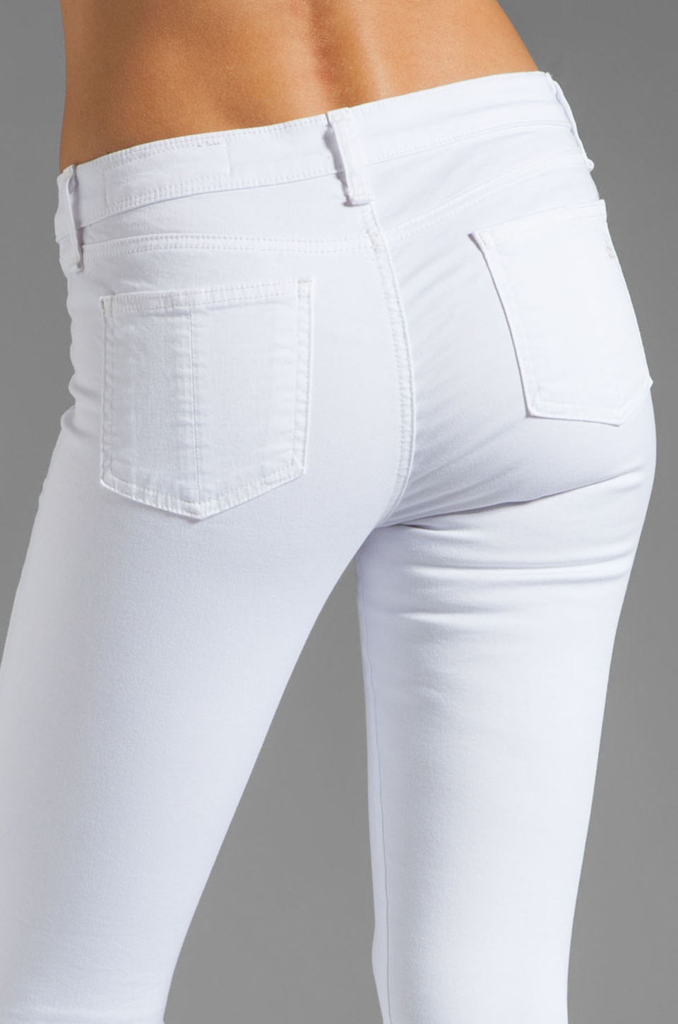 rag & bone/JEAN Macarthur Skinny in Bright White