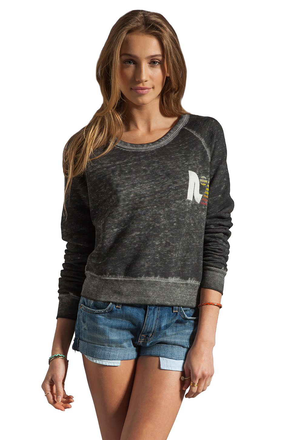 Rebel Yell Billycan Pullover in Heather Grey
