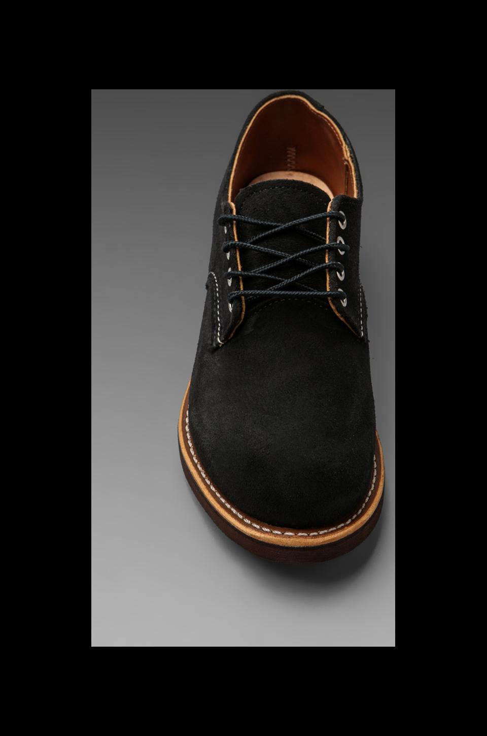 Red Wing Shoes Work Oxford in Black Abilene