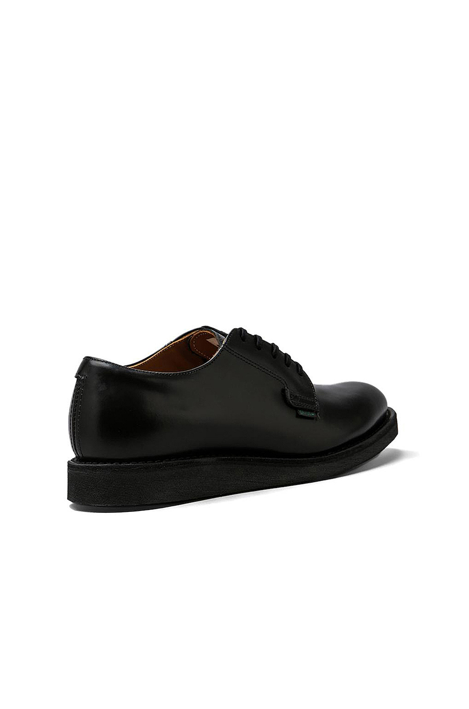 Red Wing Shoes Postman Oxford in Black Chaparral